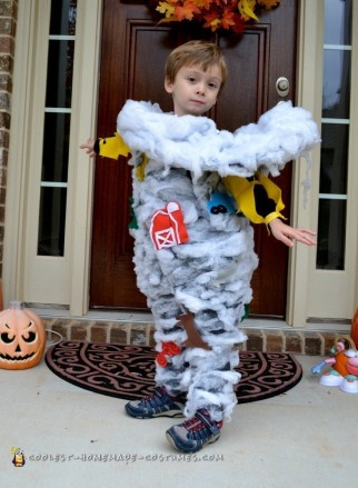 Toddler Tornado Costume