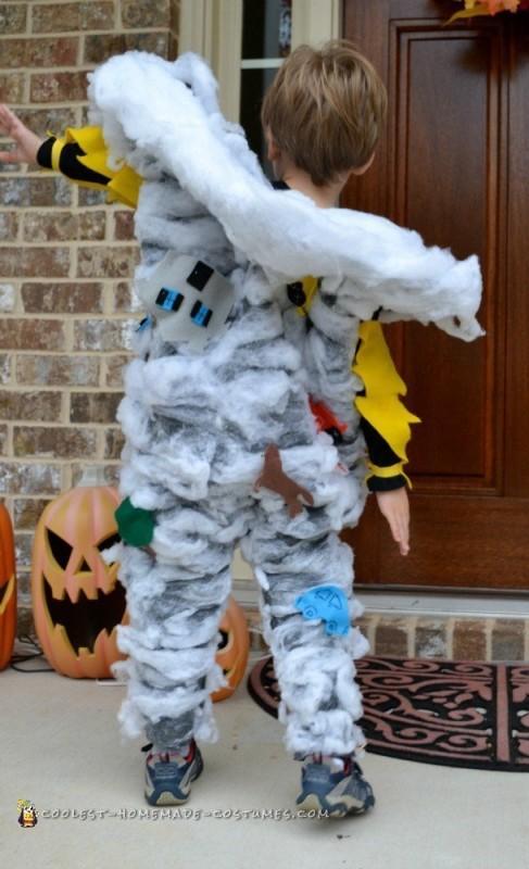 Toddler Tornado Costume - 2