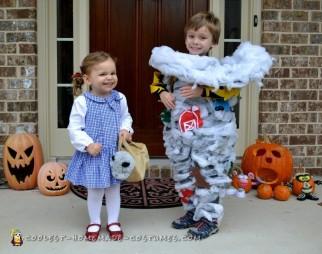 Toddler Tornado Costume