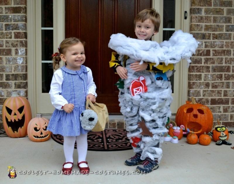 Toddler Tornado Costume - 4