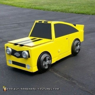 Transforming Transformers Bumble Bee Costume