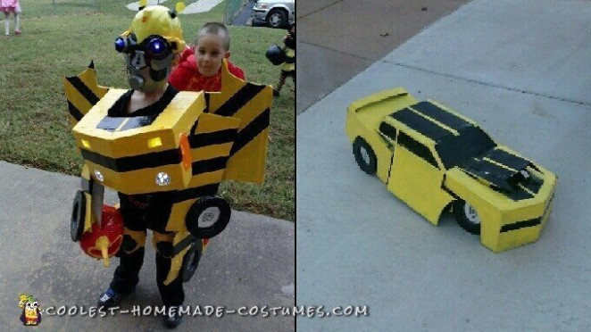 Transforming Bumblebee Costume