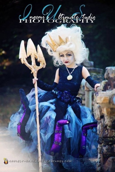 Elaborate Ursula the Sea Witch Costume