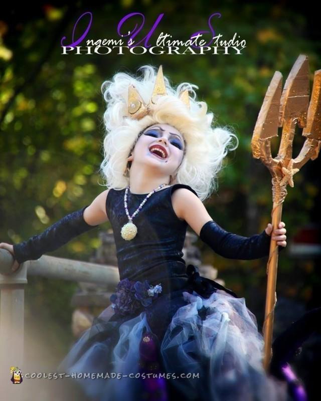 Elaborate Ursula the Sea Witch Costume