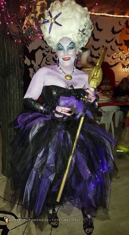 Ursula The Spectacular Sea Witch Costume