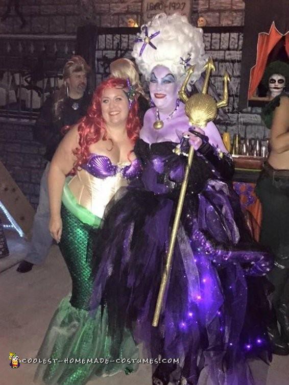 Ursula The Spectacular Sea Witch Costume