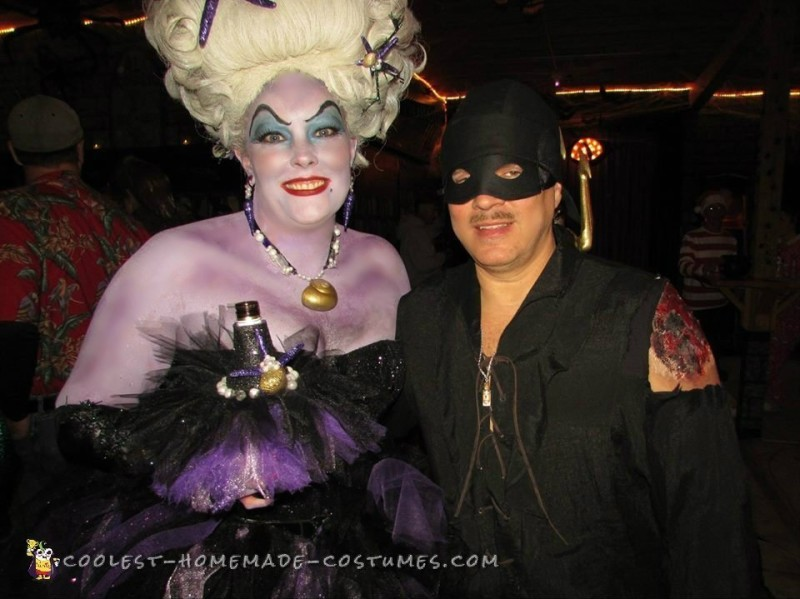 Ursula and my hubby the Dread Pirate Westley