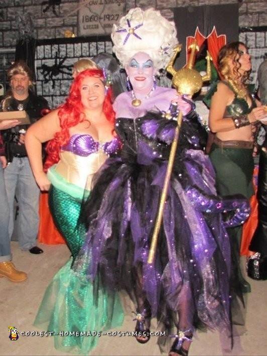 Ariel and Ursula!!