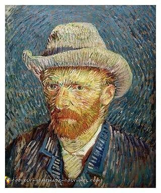 Van Gogh's Self Portrait Inspiration
