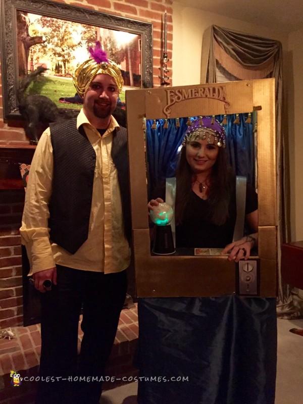 Vintage Coin-OP Arcade, Esmeralda Fortune Teller Costume - 2