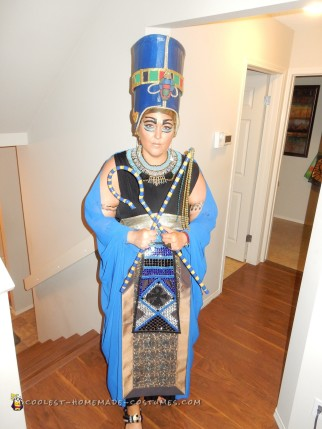 Walk like an Egyptian-Nefertiti Costume