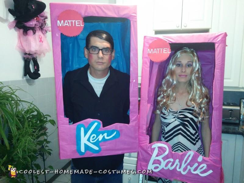 Walker Barbie and Clark Kent Ken Doll Costumes - 2