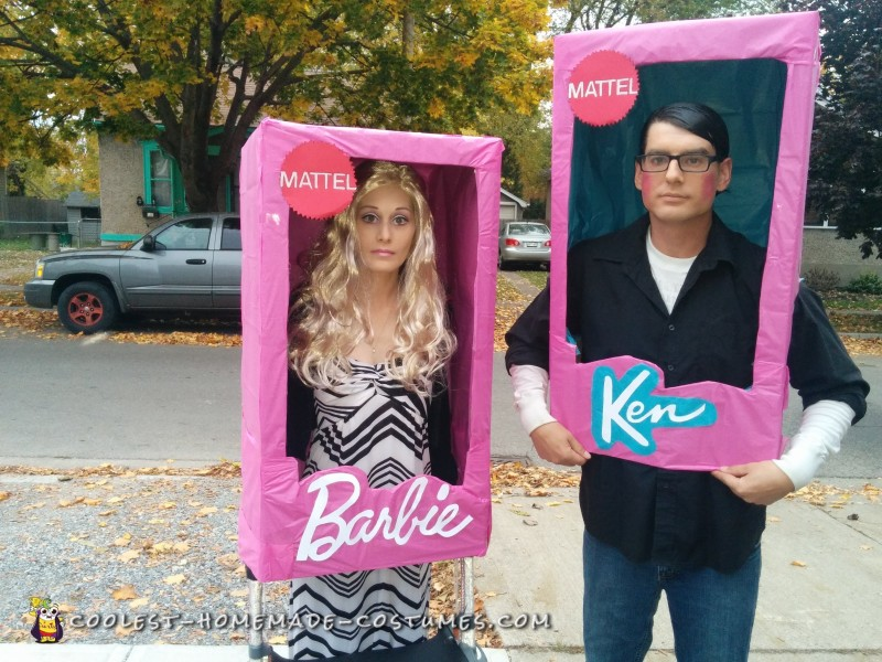Walker Barbie and Clark Kent Ken Doll Costumes