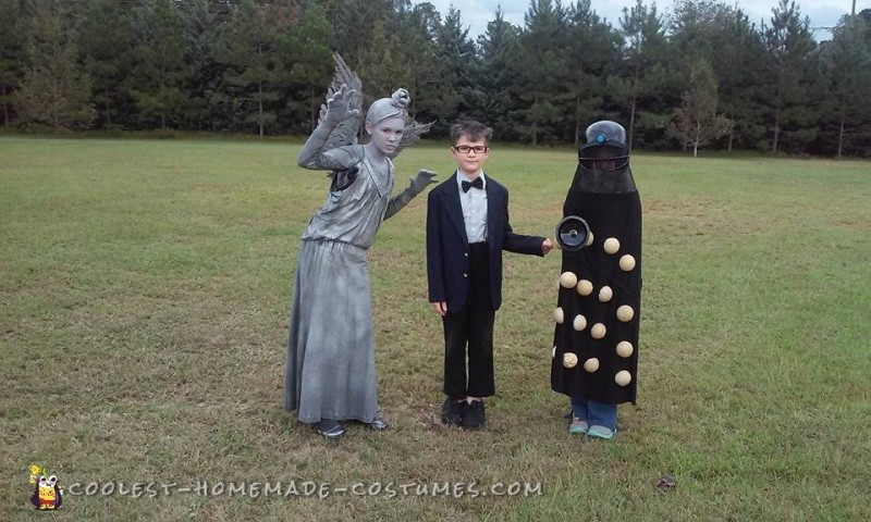 Doctor Who, Weeping Angel and Dalek Costumes