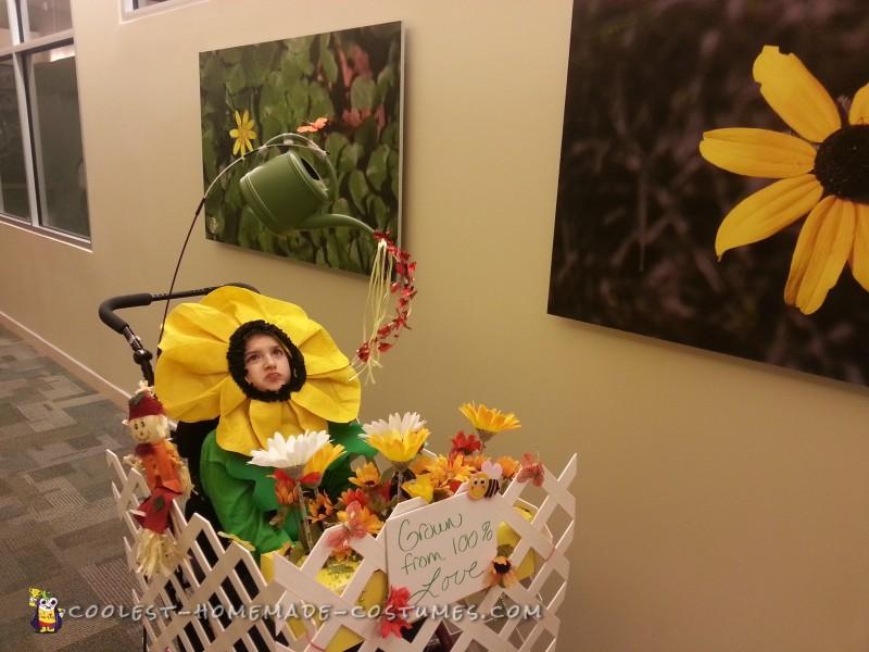 Wheelchair Flower Garden Costume - 2