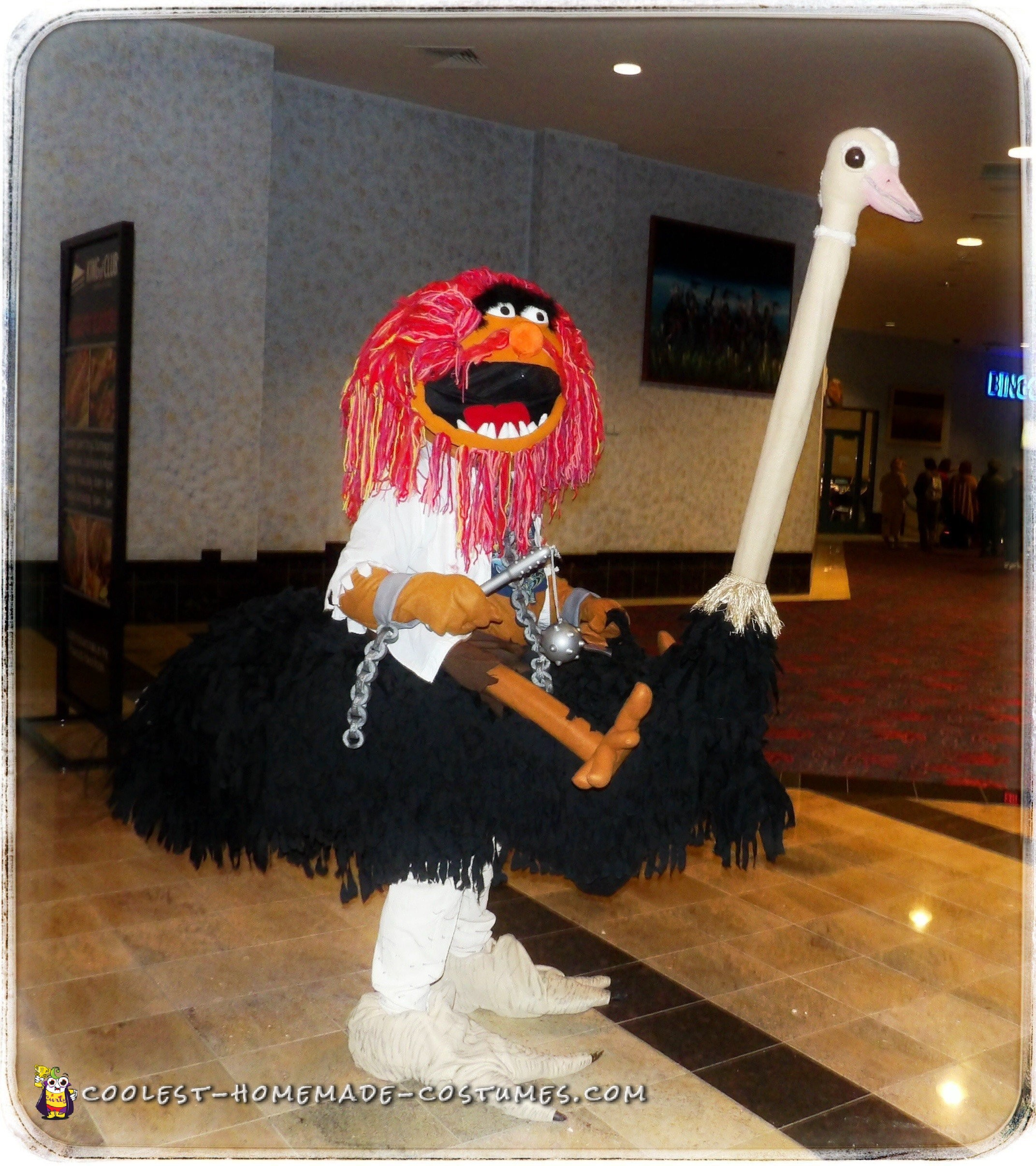 Wild Muppets Animal on an Ostrich Illusion Costume