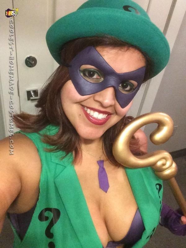 Women's Riddler Costume