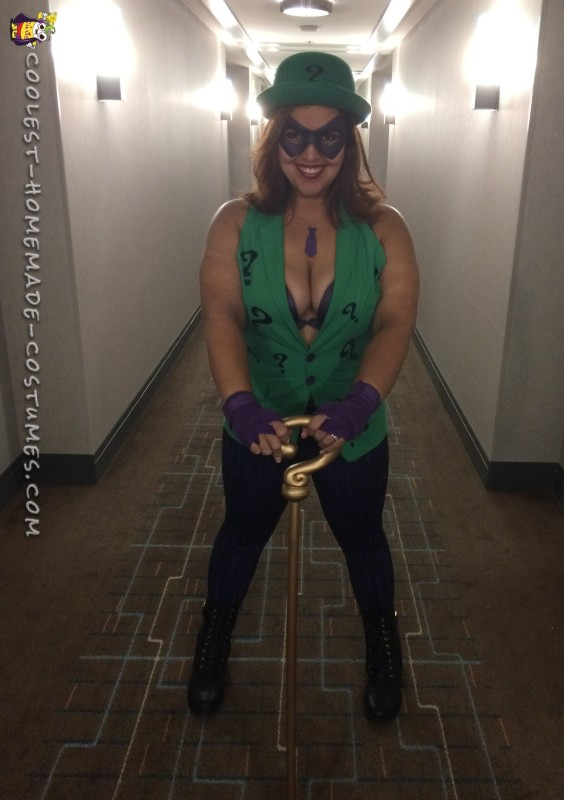 Women's Riddler Costume - 3