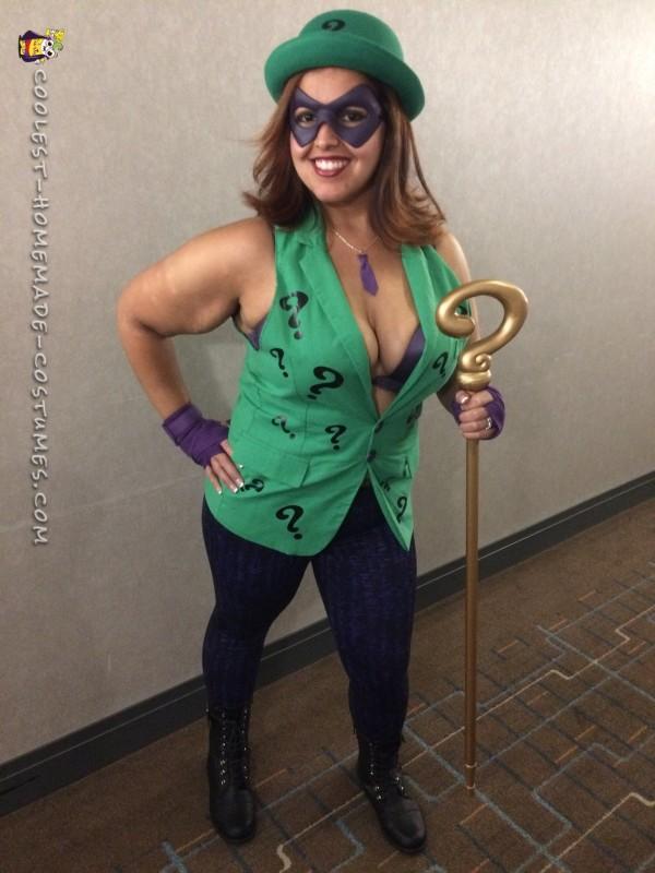 Women's Riddler Costume - 1
