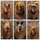 Hunter's Trophy Wall Taxidermy Group Costume