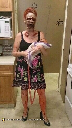 Zombie Mommy Costume - 1