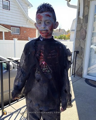 Creepy Zombie Costume