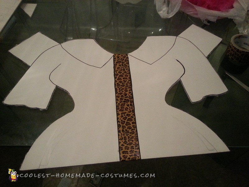 1950's Chic Paper Doll Costume - 2