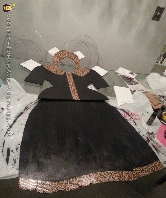 1950's Chic Paper Doll Costume