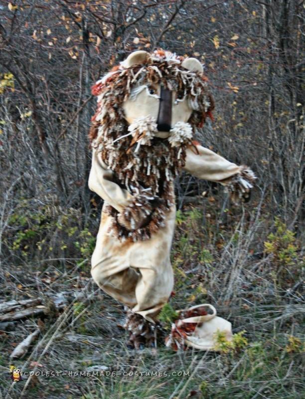Autumn Yarn Homemade Lion Costume - 3