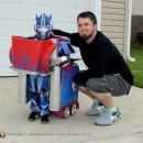 Coolest Transforming Optimus Prime Costume