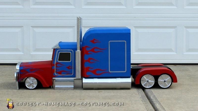 Coolest Transforming Optimus Prime Costume - 3