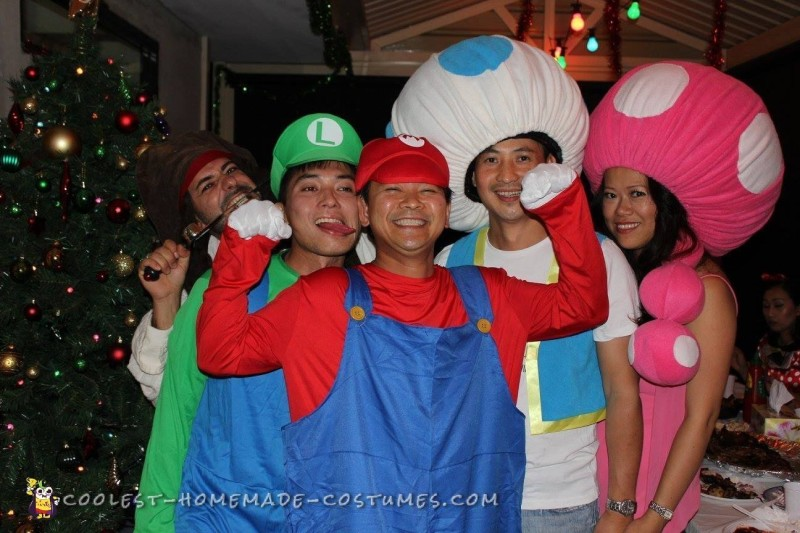Awesome and Easy Toad and Toadette Costume