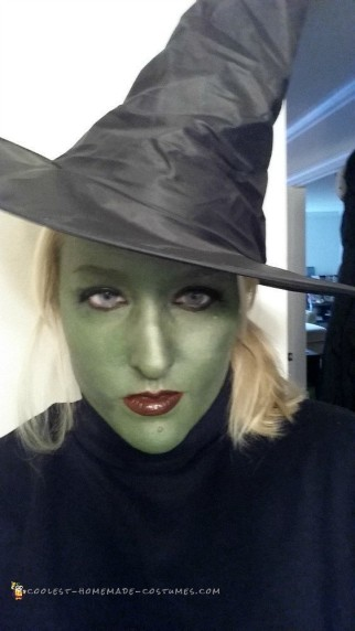 Elphelba Wicked Witch Halloween Costume