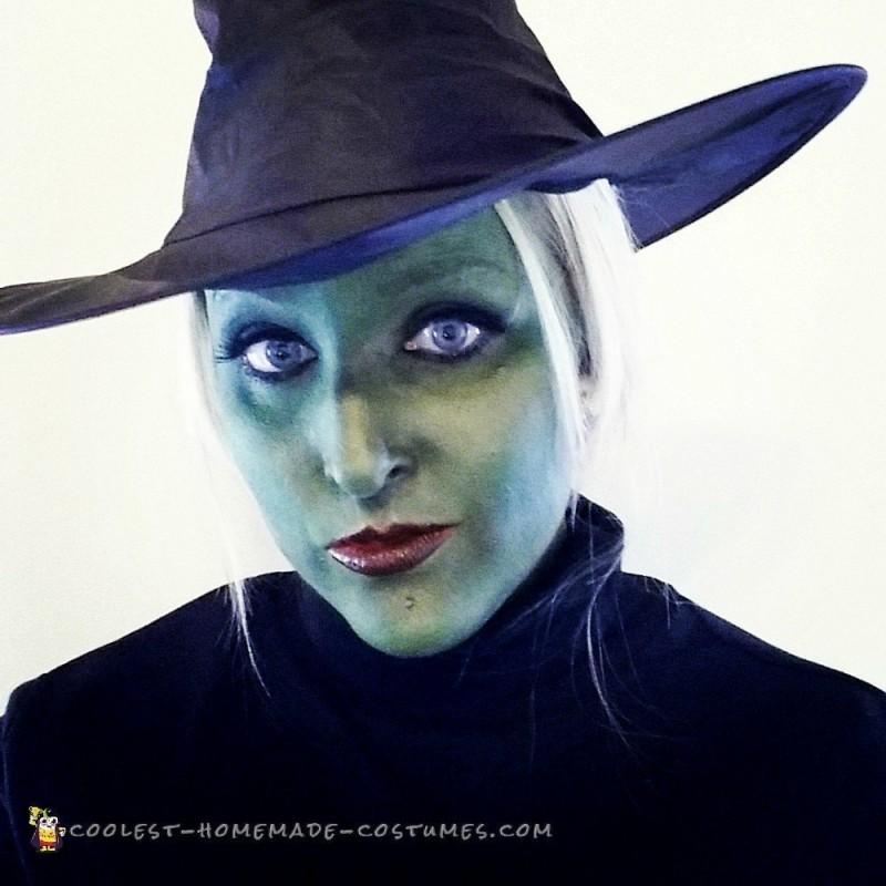 Elphelba Wicked Witch Halloween Costume - 1