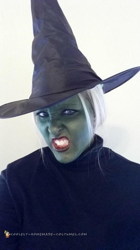 Elphelba Wicked Witch Halloween Costume - 2