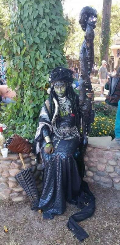 Epic Homemade Medusa Costume - 1