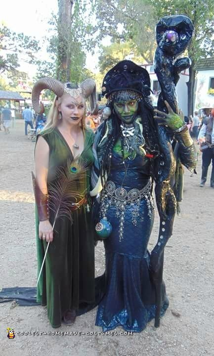 Epic Homemade Medusa Costume