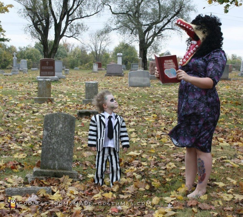 Family Beetlejuice Character Costumes - 3
