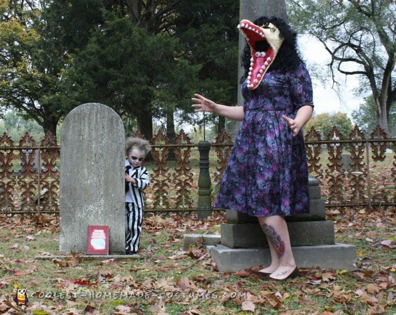 Family Beetlejuice Character Costumes - 4