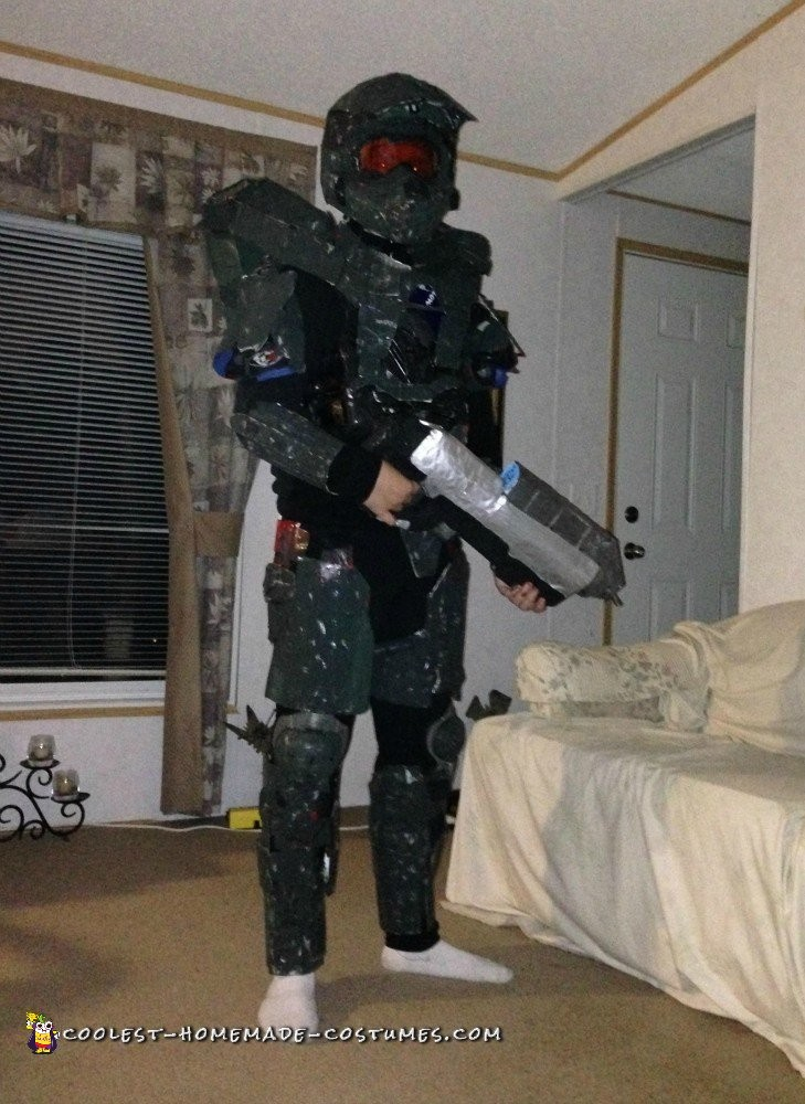 Dirt Bike Gear Becomes Halo Master Chief Armor