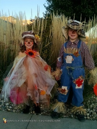 Homemade Scarecrow Costumes