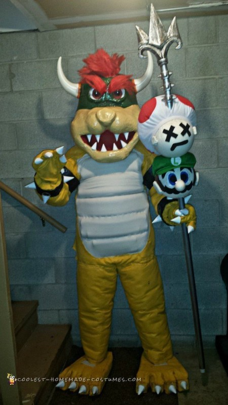 All Hail King Bowser and the Game of Thrones – Mash-Up Costume - 1