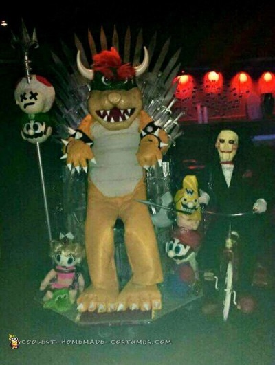 All Hail King Bowser and the Game of Thrones - Mash-Up Costume