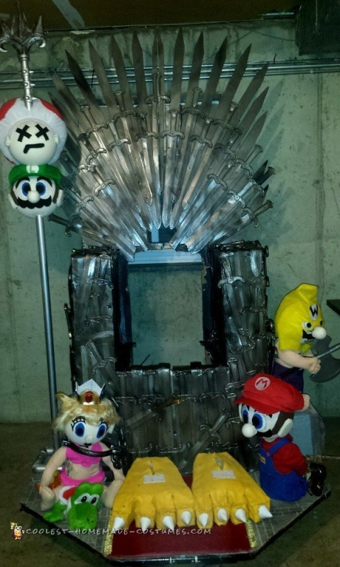 All Hail King Bowser and the Game of Thrones – Mash-Up Costume - 2