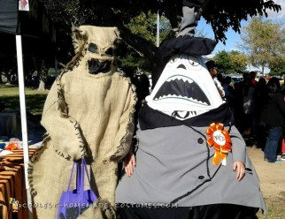 Oogie Boogie and Mayor Nightmare Before Christmas Halloween Costumes