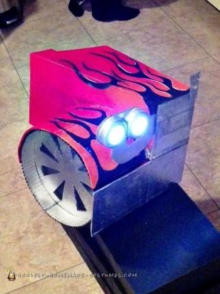 Transforming Optimus Prime Costume Design