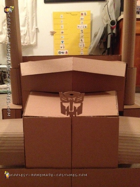 Transforming Optimus Prime Costume Design - 7