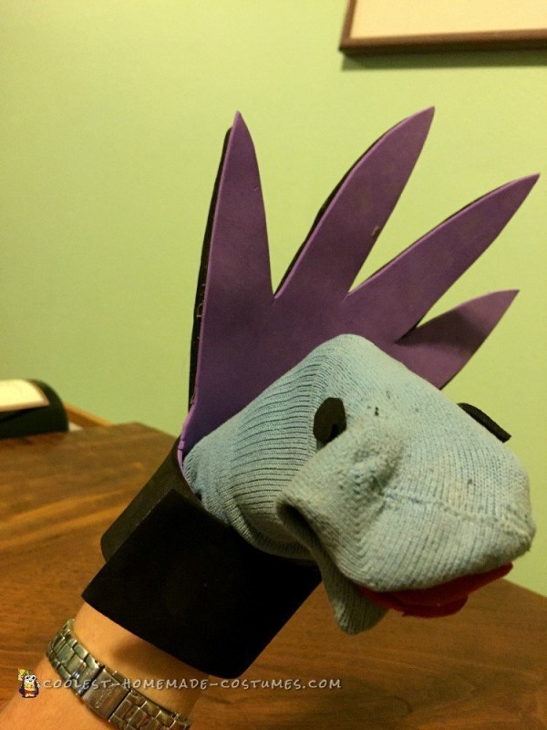 Reluctant Pokemon High Dragon Costume