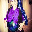 Unique Pregnant Belly Fortune Teller Costume