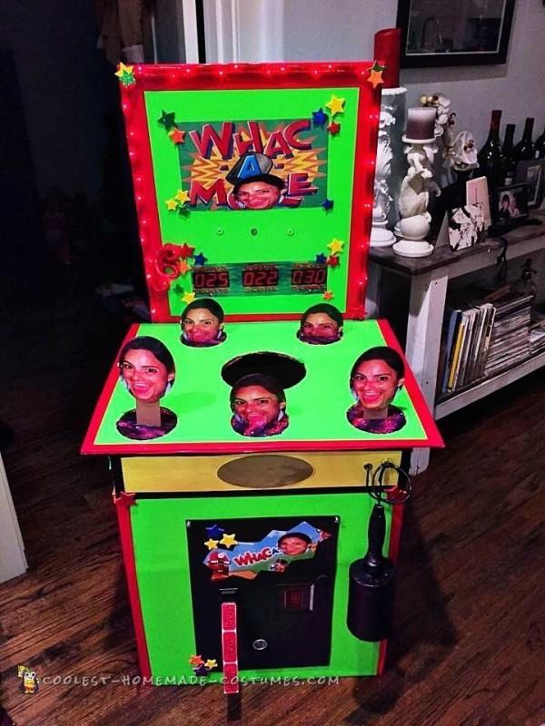 Whac-a-Me Arcade Game Costume - 1